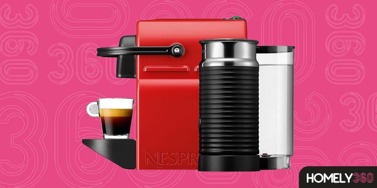 Cafeteira com Cápsula e Aeroccino