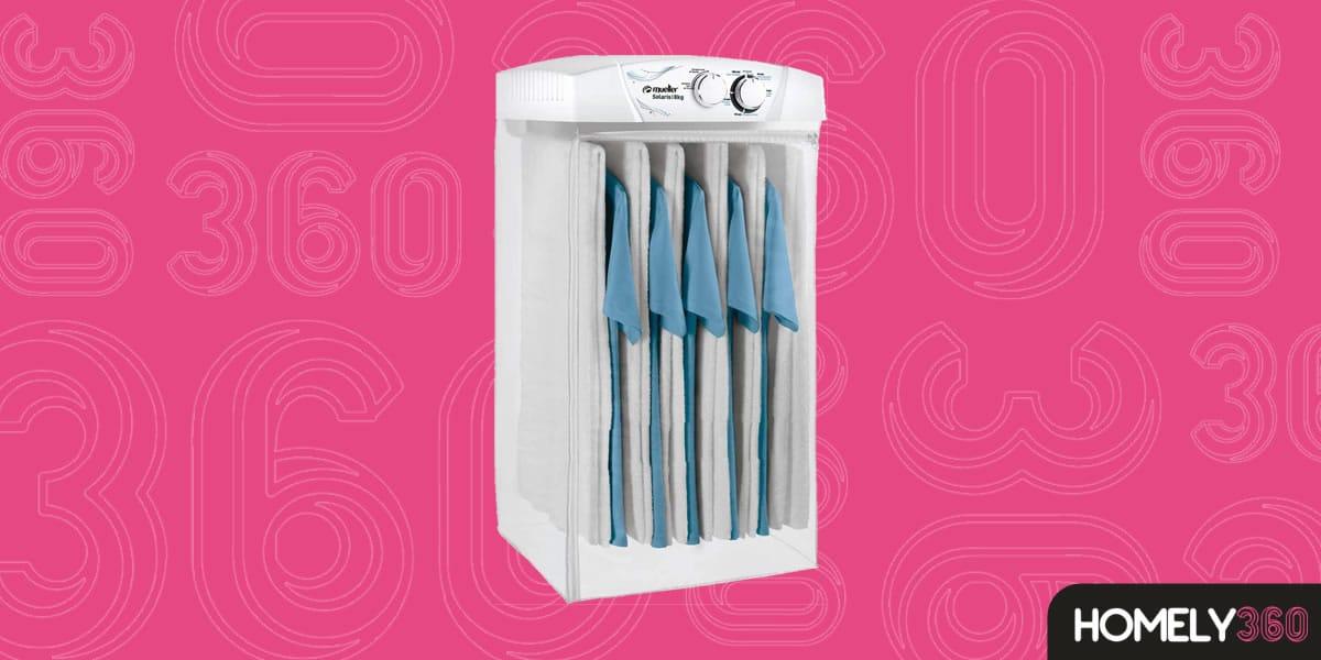 Secadora de Roupa Suspensa para Espaços Pequenos