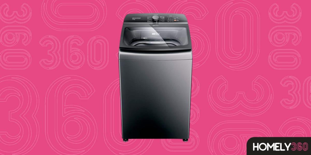 Máquina de Lavar Brastemp 12Kg Titânio